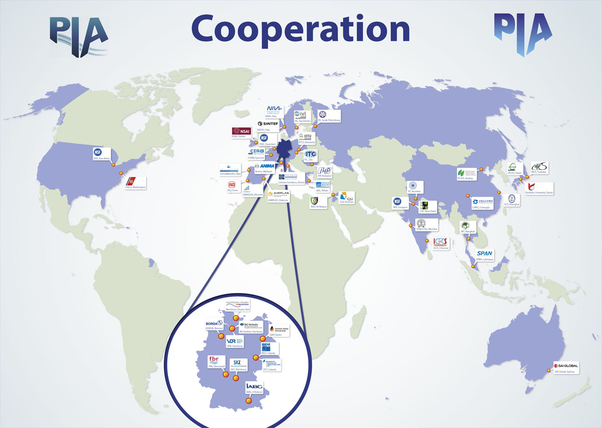 Map of Cooperation - PIA GmbH